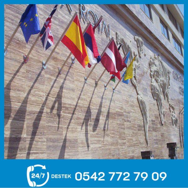Duvar Bayrak Direği 01
