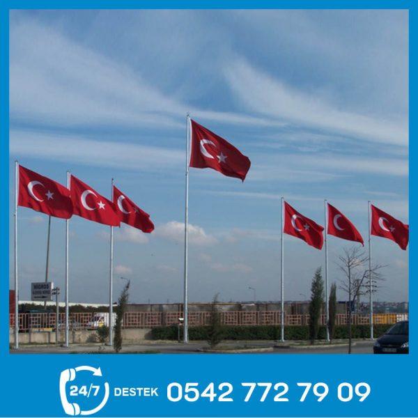 Galvaniz Bayrak Direği 03