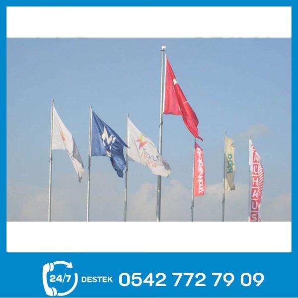 Galvaniz Bayrak Direği 05