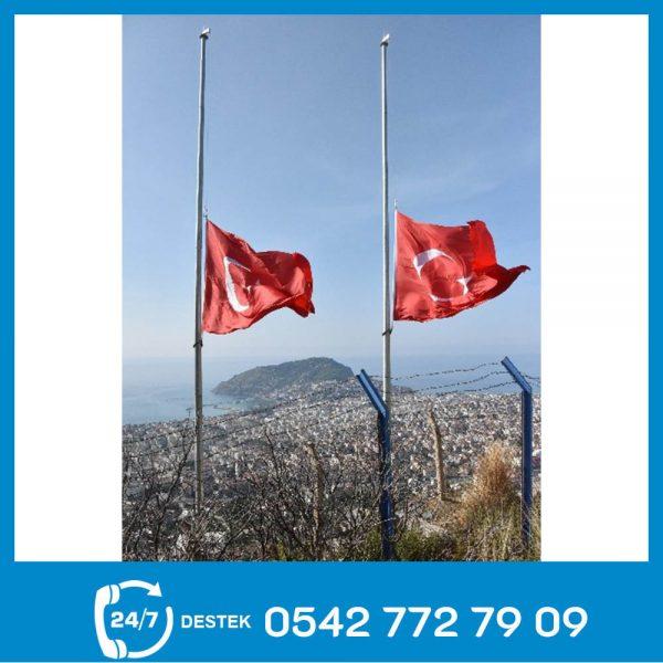 Galvaniz Bayrak Direği 08