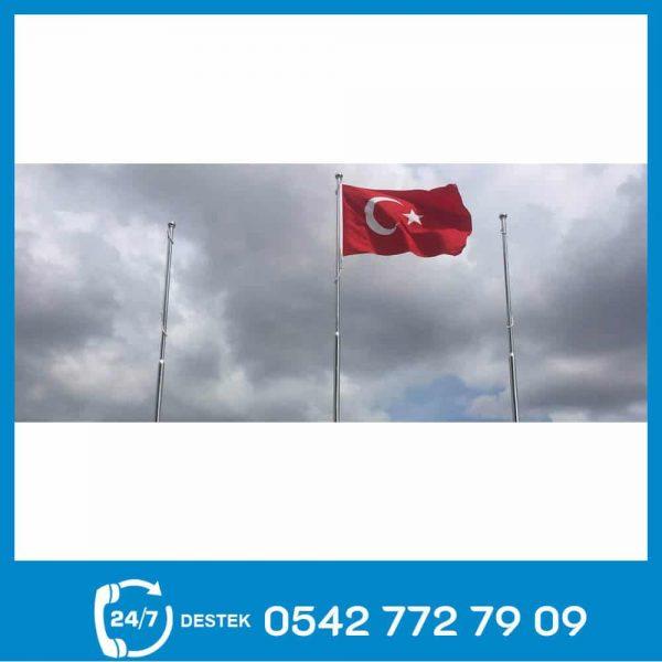 Paslanmaz Bayrak Direği 55