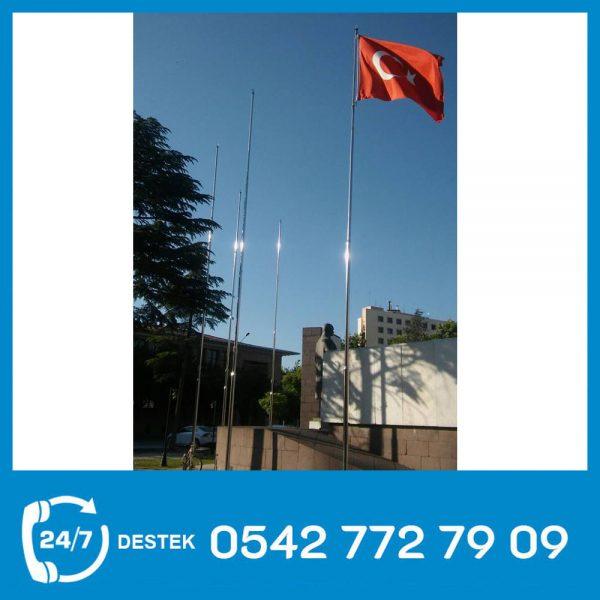 Krom Bayrak Direği 02